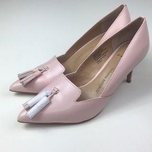 Size 6 1/2 pink banana republic heels pump shoes
